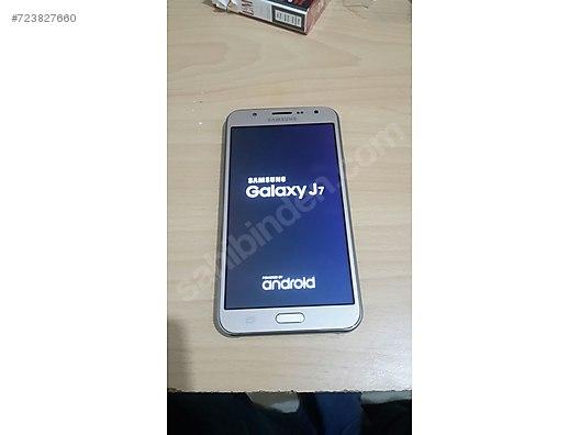 İkinci el Altın Samsung Galaxy J7 J700 Cep Telefonu