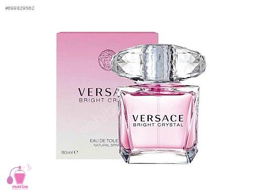 Kadın Parfüm 90 Bright Ml At Tester Sahibinden Edt Versace Crystal TlwiukXOPZ