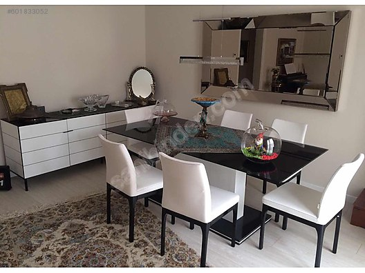 Dining Room Set Enza Crystal Yemek Masa Takimi At