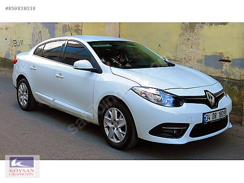 2014 MODEL RENAULT FLUENCE 1.5 DCİ TOUCH 140.000...
