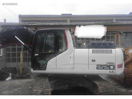 2013 Model Hidromek Hmk 220 6400 Saat Orjinal Boya Yok