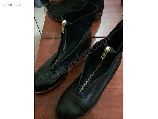 2c6d6377ff6a3 Beymen Clup 39 Numara Deri Bayan Ayakkabı. - Kadın Bot Modelleri - 622840587