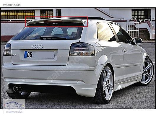 Audi A3 Tek Kapi Arka Tampon Eki Otaksan Tuning Kapida ödeme