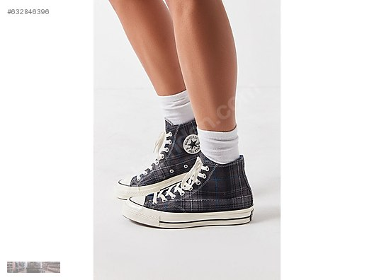 6699ee2e8f10 converse first string chuck taylor 70s plaid navy 162406c