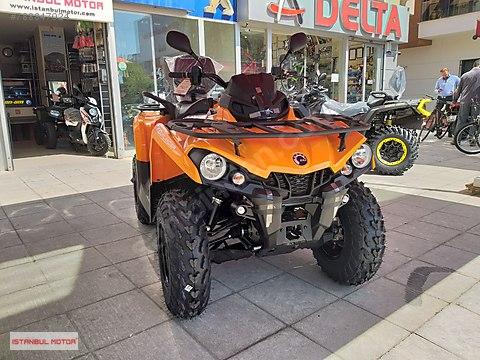 İSTANBUL MOTOR-2020 CANAM OUTLANDER MAX ABS HEMEN...