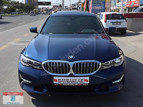 BAYRAKLAR'DAN 2020 BMW 3.20İ LUXURY LİNE EXECUTİVE...