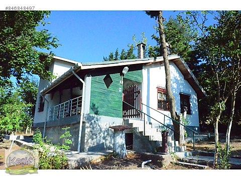850 m2 Arsa İçinde 90 m2 Dublex kiralık köy evi.Gönen...