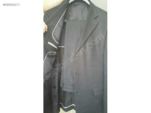 f9a9457adb5cb siyah keten takım elbise at sahibinden.com - 686855217