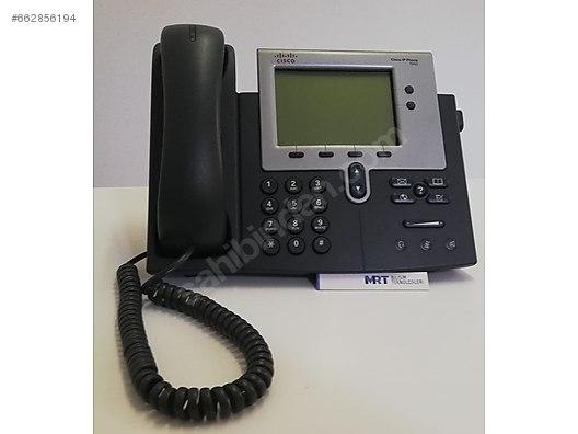 Cisco 7942 UC IP Phone CP-7942G, 2 Yıl Garanti, 50+ Stok at