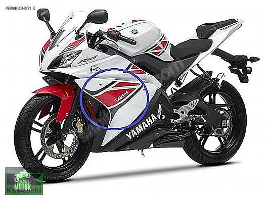 Appearance Yamaha Yzf 125 Sol Grenaj Sticker Yzf R125 Sol
