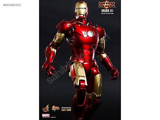 Hot Toys Iron Man MK3 MKIII Mark3 diecast ikonik model at