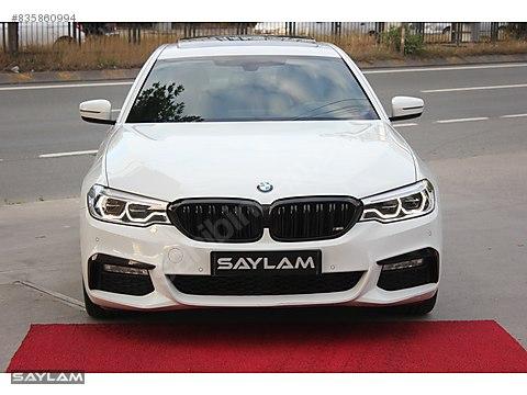 SAYLAM BMW 5.30İ EXECUTIVE M-ADAPTİF-A.ANAHTAR-NEXT100-BOYASIZ