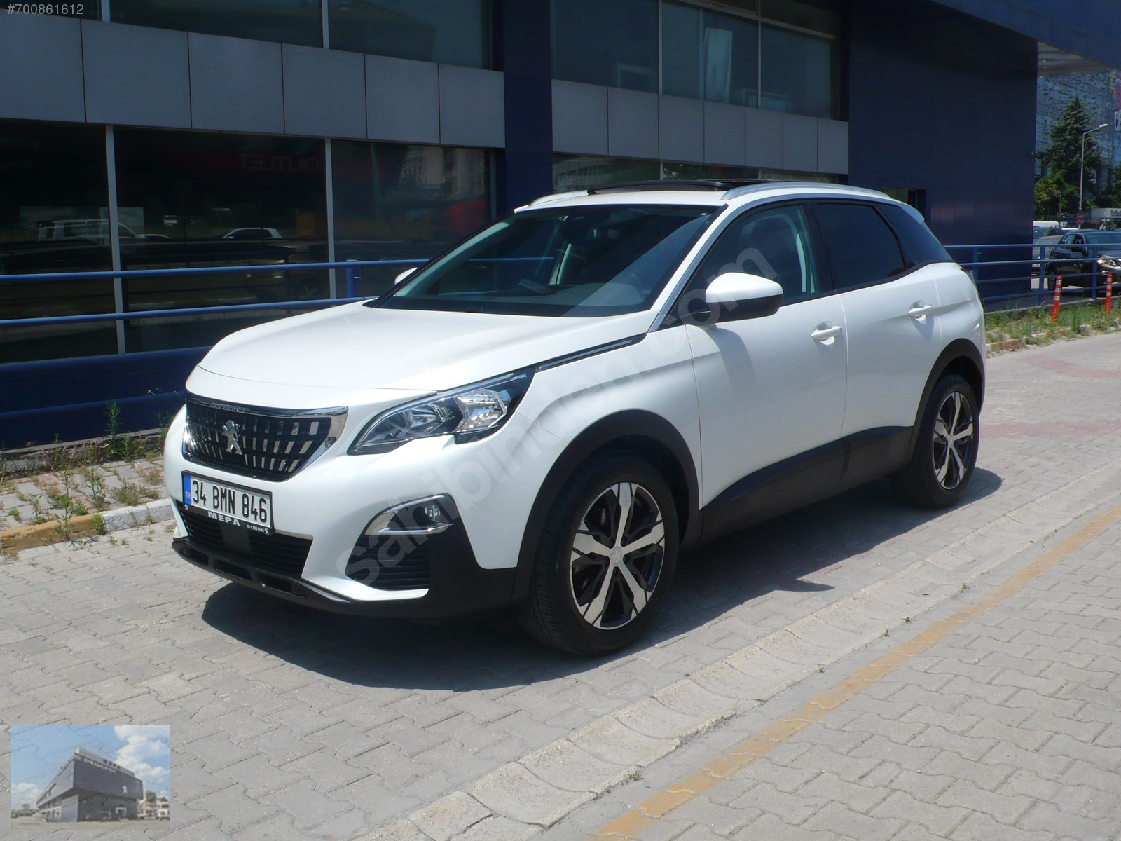 Peugeot 3008  1.5 BlueHDi Active Prime Edition  2018