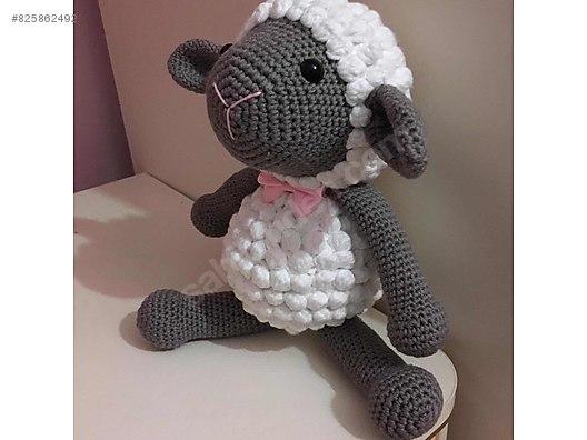Örgü amigurumi oyuncak kuzu bebek oyuncak   396x528