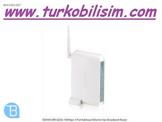 Edimax BR-6225n Wireless Router Download Drivers