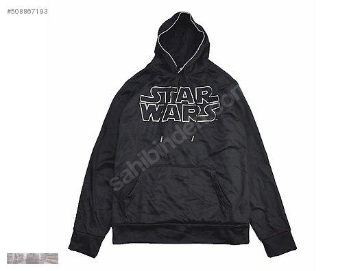 06c81abb STAR WARS WALMART OUTLINE WARS BLACK HOODIE SWEATSHIRT