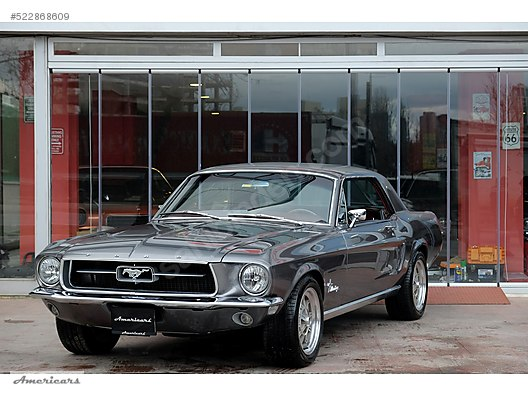 Galeriden Satılık 1967 Model 105960 Km Ford Mustang 365000 Tl