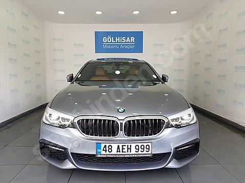 GÖLHİSAR'dan 2018 BMW 520İ EXECUTIVE M SPORT NBT/VAKUM/TABA...