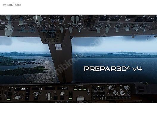 Prepar3D v4 5 Professional Plus /PC - İlan ve alışverişte