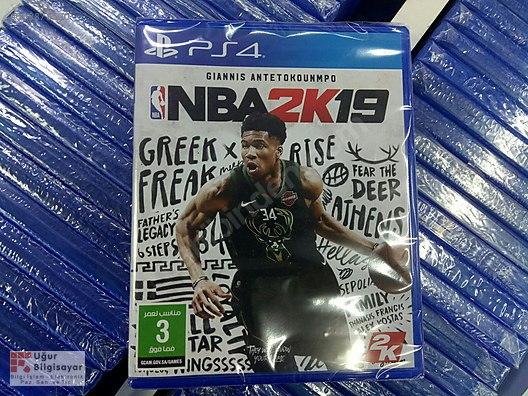 7e07e4f5c NBA 2k19 PS4..Uğur Bilgisayarda!!! at sahibinden.com - 608878500