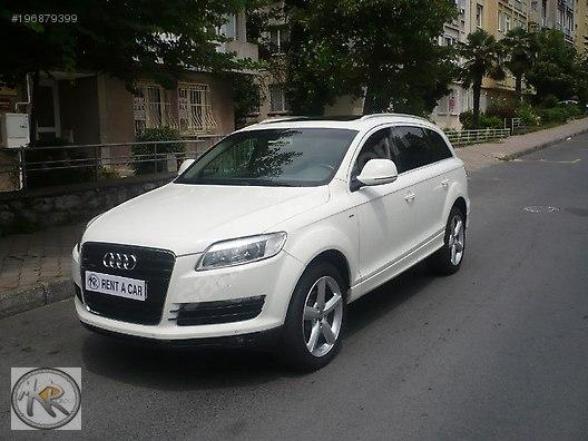 Audi / Q7 / MKR CAR RENT A CAR'DAN '' AUDİ Q7 JEEP '' GÜNLÜK 250