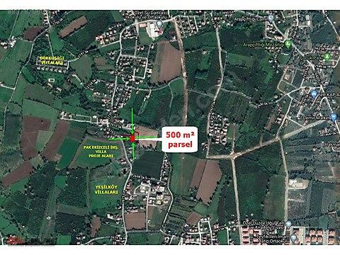 ARAP ÇİFTLİĞİNDE VİLLALIK 500 m² PARSEL