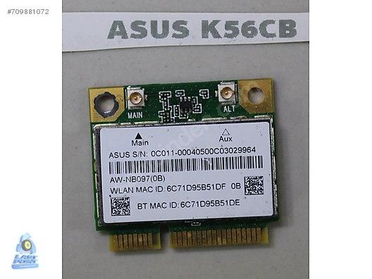 ASUS K56CB AZUREWAVE AW-NB097H WIRELESS KART