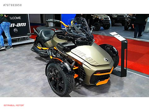 İSTANBUL MOTOR-2020 CAN-AM SPYDER F3S ÖZEL SERİ