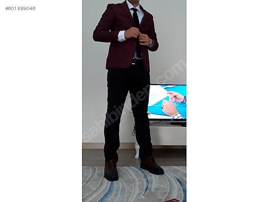 da2bf1511d121 İkinci El ve Sıfır Alışveriş / Giyim & Aksesuar / Erkek / Giyim / Takım  Elbise Hic kulanilmamis efor takim elbise ceket ...