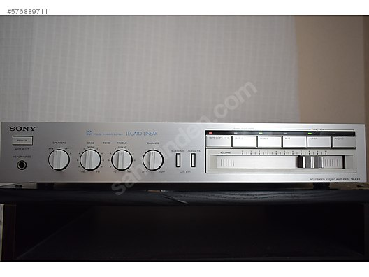 Sony / Sony TA AX 3 Integrated AMFİ 450 LİRA at sahibinden