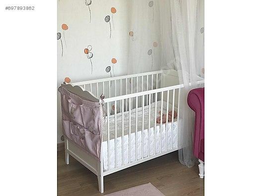 Beşik Karyola Ikea Hensvik Bebek Karyolası 60120 Ve