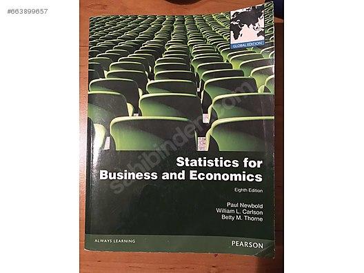 Statistics for business and economics at sahibinden com