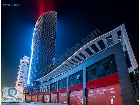Çankaya Regnum Sky Tower da 120 m2 Net Natamam...