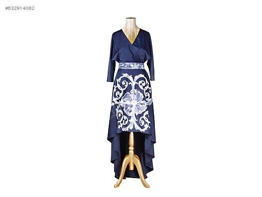 El Yapımı Elbisi üzerinde Boyama özel Dikim Elbise Modelleri