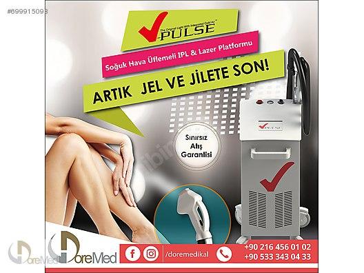 Laser Hair Removal / SOĞUK HAVA ÜFLEMELİ IPL - V PULSE at