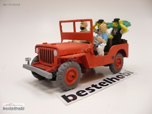 Tintin Ten Ten Jeep Willys Mb 1943 Bestelhobi At Sahibinden