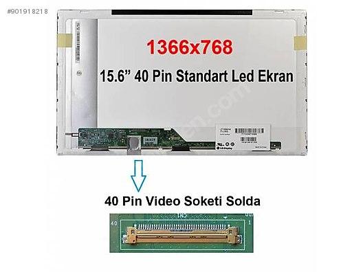 15 6 40 pin standart led ekran