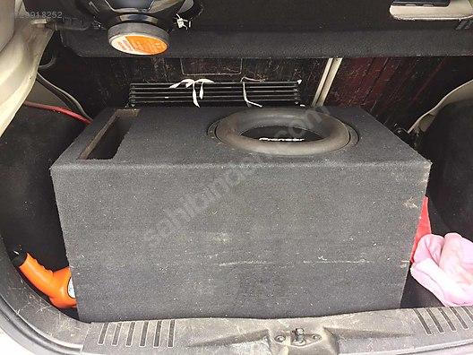 Speaker / SubWoofers / 1000 rms spl kabinli bass at