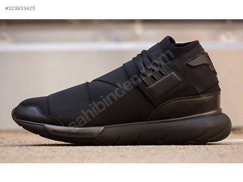 c7b91e750b85e Casual Shoes   ADIDAS Y3 QASA HIGH YOHJI YAMAMOTO BLACK S83173 at  sahibinden.com - 323933425