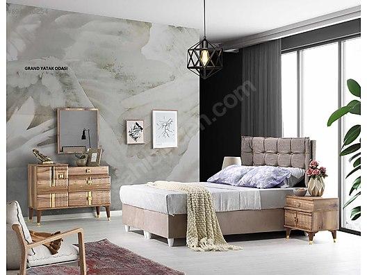 100 mdf yatak odasi takimlari yatak