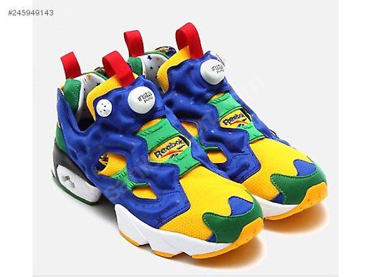 Reebok Insta Pump Fury OG Brazil World Cup 2014 Yellow Royal at ... ffb63c908530