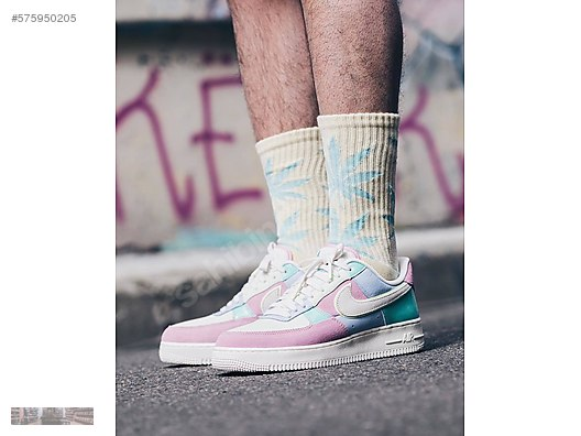 2e3f03bc1f81 nike air force 1 low 07 qs easter patchwork ah8462 400 multi