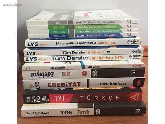 üniversite Hazırlık Soru Kitapları Ygs Lys Tyt Yks Temiz