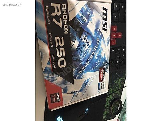 Ekran Kartı MSI R7 250 2 GB DDR3 at sahibinden com