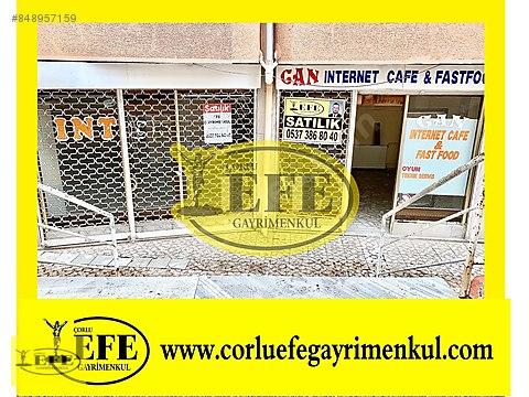 Çorlu Satılık Dükkan Muhittin Mh.100 M2 İşlek Sokak...