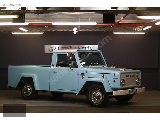 Dodge / S100 / Galeri ANTİK 1967 Model 100 Dodge HAVALI DİEKSİYON