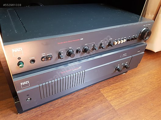NAD Electronics / NAD Power Amplifier 2600 + Stereo