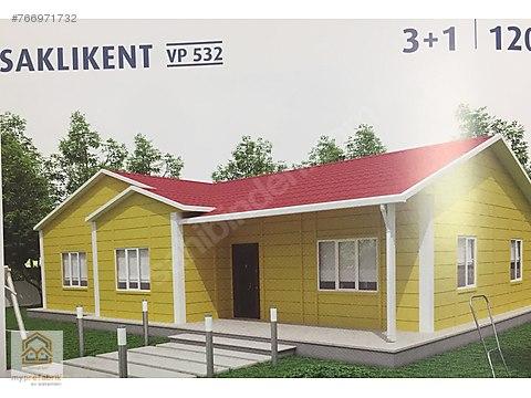 120m2 3+1 prefabrik ev (nakliye montaj dahil )