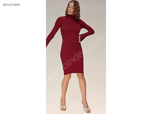 02223b35bafec Bordo diz üstü elbise - Özel Dikim Elbise Modelleri sahibinden.com'da -  653979696
