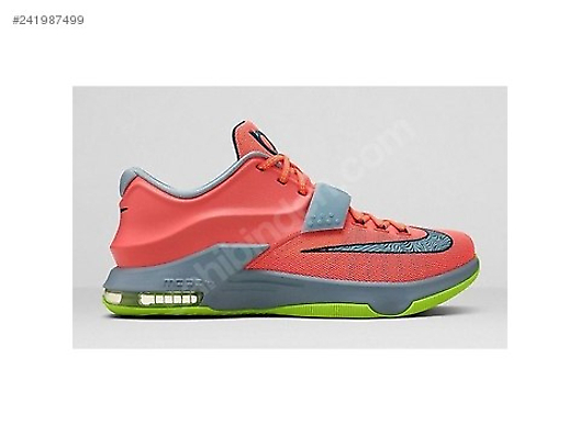 b5a0f1734c8e Nike KD VII 7 GS 35000 Degrees Bright Mango Light Magnet Grey at ...